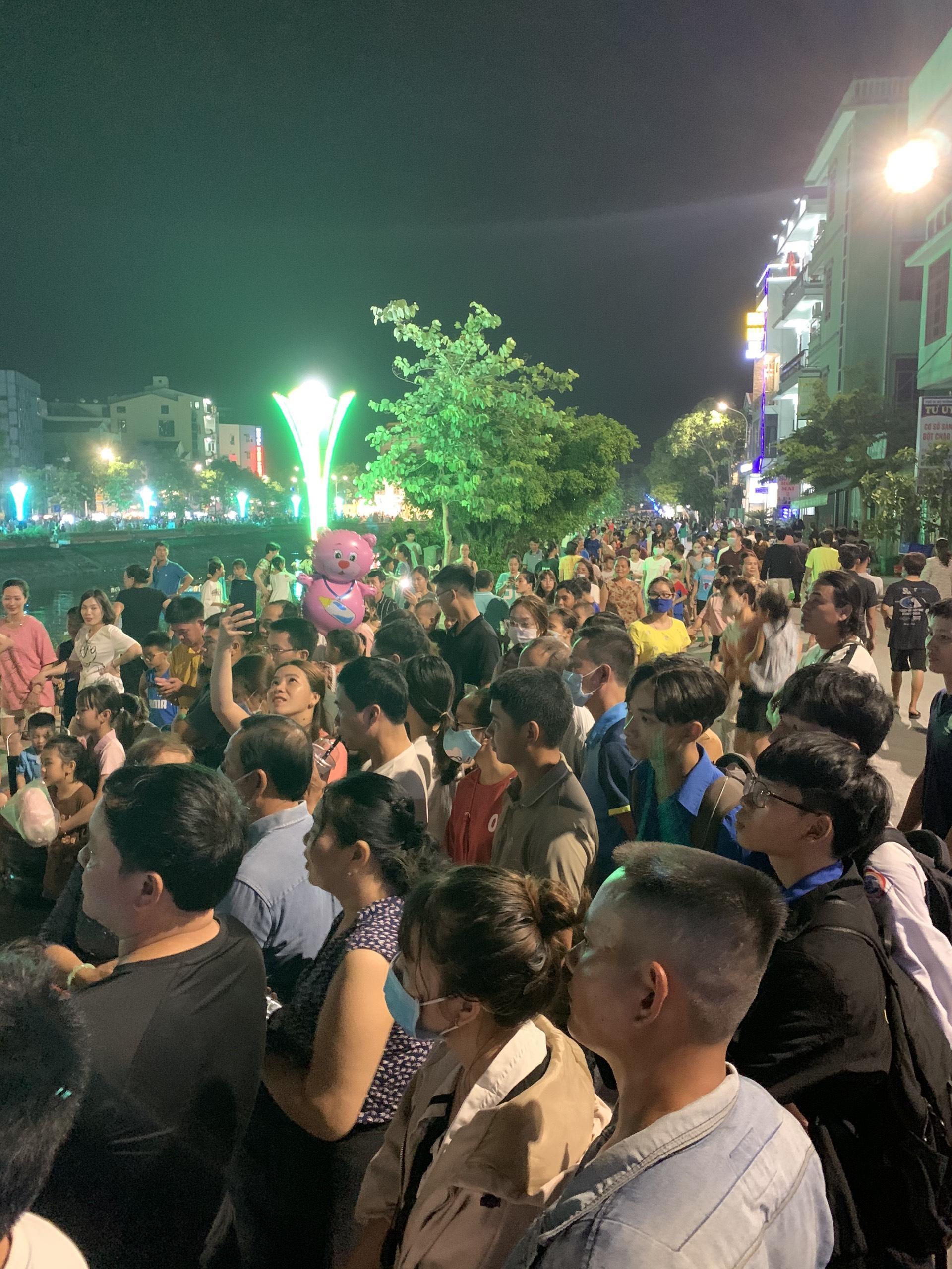 Phố đi bộ thành phố Đồng Hới