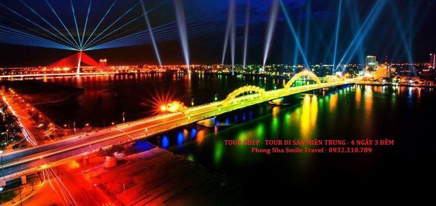 TOUR DI SẢN MIỀN TRUNG  - TOUR GHÉP 4 NGÀY 3 ĐÊM