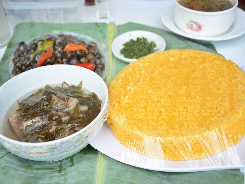 Đặc sản ốc Bồi Minh Hóa - Quảng Bình